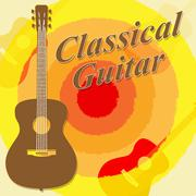 Classical Guitar Showing Music Musician And Musical Piirros