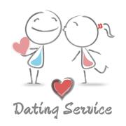 Dating Service Indicates Finding Love And Affection Stock Illustration
