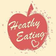 Healthy Eating Indicates Healthful Consumption And Food Piirros