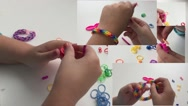 Making jewelry for the hands Stock Footage