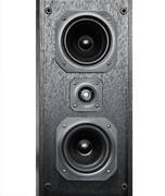 Sound Speaker on white Stock Photos