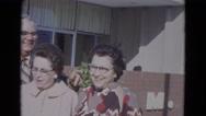 1967: women are seen in beautiful dresses LINCOLN, NEBRASKA Stock Footage