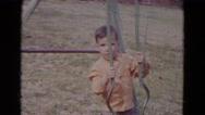 1967: swing scene is seen LINCOLN, NEBRASKA Stock Footage