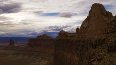 Time Lapse Clouds at Canyonlands National Park Moab Utah Islands in the Sky Stock Footage