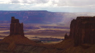 Time Lapse Canyonlands National Park Islands in the Sky Sunset Buttes Stock Footage