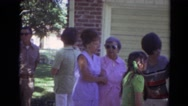 1974: family is seen going on trip with small child LINCOLN, NEBRASKA Stock Footage