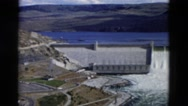 1958: very big dam OREGON Stock Footage