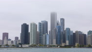 4K UltraHD Timelapse of the Chicago skyline Stock Footage