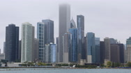 4K UltraHD Timelapse of the Chicago city center Stock Footage
