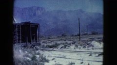 1960: snow playing is seen NEW MEXICO Stock Footage