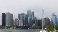 4K UltraHD Timelapse of Chicago from the Navy Pier Stock Footage
