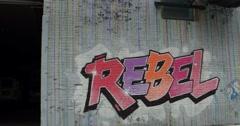 Street Art in Manhattan New York City 4K Stock Footage