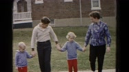 1962: family is seen going on trip with small child HAGERSTOWN, MARYLAND Stock Footage
