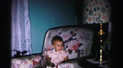 1962: child is seen HAGERSTOWN, MARYLAND Stock Footage