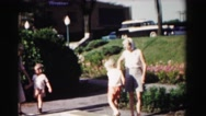 1962: garden is seen HAGERSTOWN, MARYLAND Stock Footage
