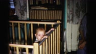 1962: toddlers is seen crawling HAGERSTOWN, MARYLAND Stock Footage