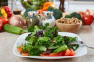 Salad. Stock Photos