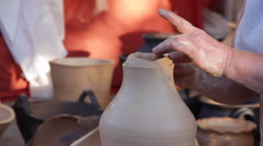 LupuloCreating an earthen vessel Traditional Crafts Stock Footage
