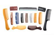Hairbrush or comb Stock Photos