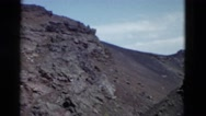 1958: view of the mountain from the down point MONTANA Stock Footage
