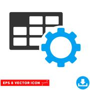 Schedule Settings Eps Vector Icon Piirros