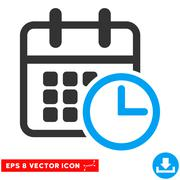Timetable Eps Vector Icon Stock Illustration