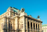 Viennese Classical style building, Austria, Europe Stock Photos