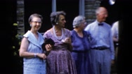 1958: togetherness brings happiness which reflects around MONTANA Stock Footage