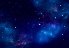 Starry night sky deep outer space Stock Photos