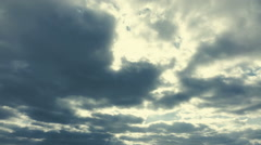 Time lapse, movement of clouds. Stock Footage