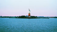 Statue of Liberty, New York Stock Footage