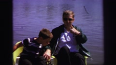 1972: water area is seen LYNBROOK, NEW YORK Stock Footage