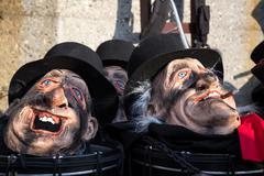 Carnival in Basel, Switzerland Stock Photos