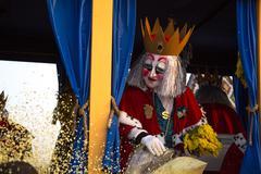 Carnival Parade in Basel, Switzerland Stock Photos