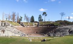 Roman Theatre Augusta Raurica Stock Photos