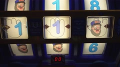 Children Entertainment Center, Slot Machines Stock Footage