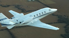 Cessna Citation XLS + Air to Air Stock Footage