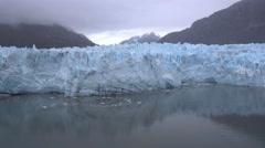 Establishing Shot of Margerie Glacier in Alaska   Stock Footage