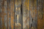 Wooden background with weathered wood and nails Stock Photos