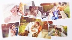 Wedding Photos Slide 3D Kuvapankki erikoistehosteet