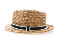 Straw hat for man Stock Photos