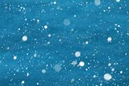 Light Blue Christmas Paper Background, Copy Space, Snowflakes Stock Photos