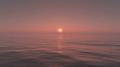 4k,Sun Rise Over Ocean,Sunrise. Arkistovideo