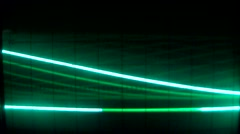 Electronic signal screen Stock Footage