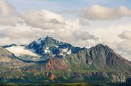 Mountains in Alaska Stock Photos