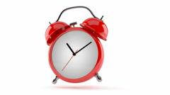 Ringing alarm clock Stock Footage