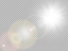 Sunlight special lens flare. EPS 10 Piirros