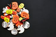 Halloween homemade treat Stock Photos