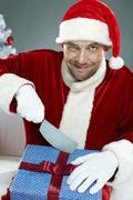 Cruel Santa Stock Photos