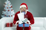 Greedy Santa Stock Photos